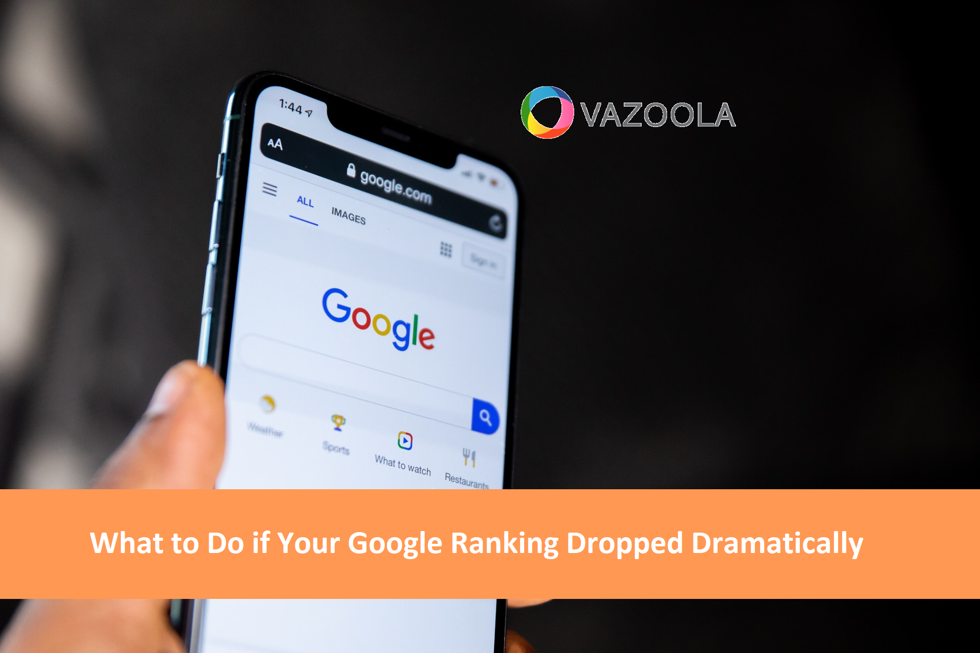 What To Do if Your Google Ranking Dropped Dramatically